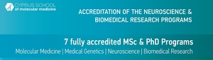 Accreditation of the Programs of the Cyprus School of Molecular Medicine